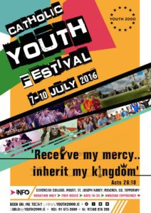 Youth 2000 Summer Festival, 7th-10th July @ Cistercian College,  | Roscrea | Tipperary | Ireland